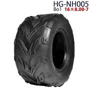 四輪バギー ATV タイヤのみだけ 7インチ 16×8.00-7 HG-NH005(粉砕機 HG-15HP-GGS用のタイヤとしても利用可) ハイガー産業 Bo1 0113flash 16 +
