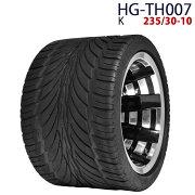 四輪バギー ATV ホイール付タイヤ 10インチ 235/30-10 HG-TH007 ハイガー産業 K 0113flash 16