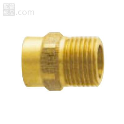 山本:銅管継手 フレキ接続オスアダプター <CU> 型式:CU1315G
