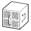 LIXIL(INAX):スーパーセピオライト 脱臭カートリッジ <CWA-23> 型式:CWA-23