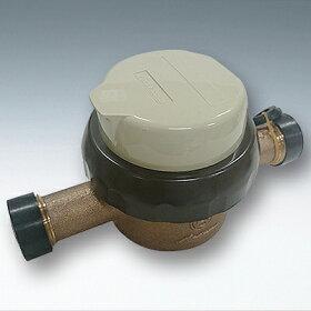 愛知時計電機:小型水道メーター小口径<SD>型式:SD-20(ガス管金具付)