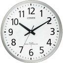 ショッピング掛け時計 シチズン 電波 壁掛け時計 連続秒針 シルバー φ450x56 8MY463-019 ( 8MY463019 ) リズム(株)