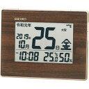 ショッピング電波 SEIKO 和暦表示付き電波時計 ( SQ442B ) セイコークロック(株)
