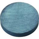 トラスコ中山(株) TRUSCO フェライト磁石 外径25mmX厚み4mm (1個=1PK) TF25R1P (4151747)