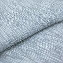 阿波しじら織り 木綿 着物 単衣きもの《仕立代込み》淡い灰藍に白絣縞 No.H16 【受注生産】【送料無料】