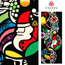 《kenema -けねま-》日本製 注染本染め 手ぬぐい クリスマス Holy light(ホーリーライト) 51147【メール便OK】