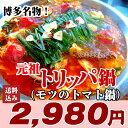送料無料◆dancyu、シューイチ、はなまるマーケットでも絶賛!!元祖 トマトともつの 博多トリッパ