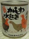 かしわ水炊き缶 大缶・ 850g×3缶 博多名物 内外実業(化粧箱なし)