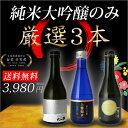 バレンタイン ホワイトデー 2018 / 送料無料 日本酒 純米大吟醸 飲み比べセット 極み