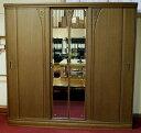 配送、搬入、設置無料サービス付 在庫処分アルマーニ205ワードローブ 府中家具