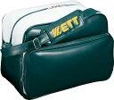 ショッピング野球 ZETT(ゼット) 野球 バッグ・ケース セカンドバッグ ショルダータイプ 【グリーン/ホワイト】 BA593