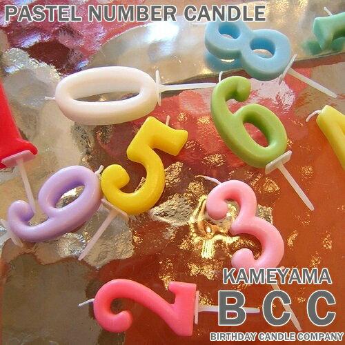 KAMEYAMA BCC パステルナンバーキャンドル NO.1~NO.0 ハート クエスチョン ギフトカメヤマローソク B7501-07-【RCP】#