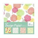 デザインペーパー スプリングフラワー 4デザイン×各12枚 48枚入り 折紙 amifa(アミファ)