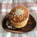 大麦と野菜のホットケーキミックス♪雑穀の甘さと野菜の栄養召し上がれ♪かぼちゃパウダー入り♪パンケーキで朝食にも◎
