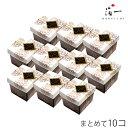 ショッピングパウダー 【まとめ買い】金箔入りチョコボーロ×10個