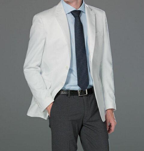 FD4080 男子テーラードジャケット ナガイレーベン Naway 男性用 白衣 シングルボタン 診察衣 (送料無料 白衣 医療用白衣 医師用 医者 ドクター 男性 男性用 白衣 メンズ 薬局・薬剤師 白 ホワイト 通販 楽天 白衣ネット)