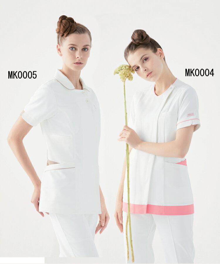 MK0004 ミッシェルクラン レディス ジャケット 白衣 医療白衣