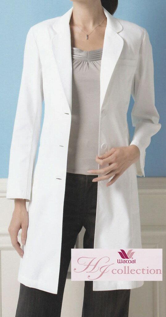 ワコールHI401診察衣コートS〜3L エステ美容制服の商品画像