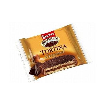 ローカー トルティーナオリジナル1p(21g)×24個 ミルクチョコレート ヘーゼルナッツチョコレート 輸入菓子