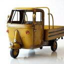 アンティーク レトロ 車 置物 おしゃれ ブリキのおもちゃ アイアン 鉄 アメリカン雑貨 アメリカ雑貨 インテリアオブジェ アンティーク風 雑貨 かっこいい 置物 小物 男性 誕生日プレゼント 贈り物 アンティーク調 置物 American Nostalgia 三輪自動車