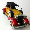 アンティーク レトロ 車 置物 おしゃれ ブリキのおもちゃ アイアン 鉄 アメリカン雑貨 インテリアオブジェ アンティーク風 雑貨 かっこいい 置物 小物 男性 誕生日プレゼント 贈り物 アンティーク調 車 置物 American Nostalgia クラシックカー