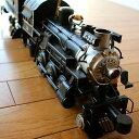 アンティーク レトロ 機関車 SL 鉄道 置物 おしゃれ ブリキのおもちゃ アイアン 鉄 アメリカン雑貨 アメリカ雑貨 インテリアオブジェ アンティーク風 雑貨 かっこいい 置物 男性 誕生日プレゼント 贈り物 アンティーク調 置物 American Nostalgia 機関車