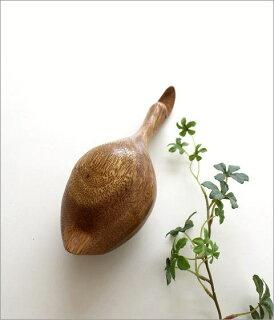 木彫りのアヒル
