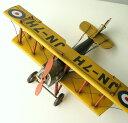 アンティーク レトロ 飛行機 置物 おしゃれ ブリキのおもちゃ アイアン 鉄 アメリカン雑貨 アメリカ雑貨 インテリアオブジェ アンティーク風 雑貨 かっこいい 置物 小物 男性 誕生日プレゼント 贈り物 アンティーク調 置物 American Nostalgia 飛行機