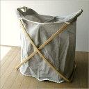 ランドリーバスケットシンプルおしゃれ洗濯かごストッカーランドリーかご洗濯物入れ収納laundryランドリーバッグ L