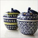 ポーランド食器 陶器 ポーリッシュポタリー りんごポットポーランド陶器のりんごポットA2タイプ
