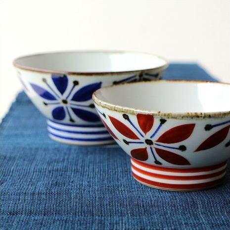ご飯茶碗 ごはん茶碗 お茶碗 夫婦茶碗 セット おしゃれ 和食器 有田焼 飯碗 五花弁夫婦碗