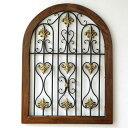 飾り窓壁掛けインテリア壁飾りウッド中世ヨーロッパヨーロピアン...