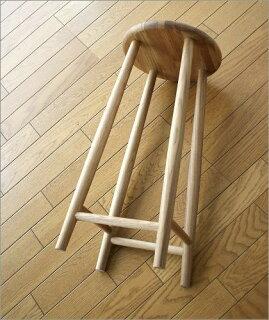 木製スツール無垢天然木北欧オークシンプルテイストデザインおしゃれ椅子チェアーキッチンスツールカウンタースツールカウンターチェアーバースツールバーチェアーハイチェアーナチュラル完成品送料無料ナチュラルウッドのハイスツールオーク