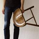 スツール おしゃれ 木製 椅子 いす イス 玄関 ウッドチェア 無垢材 オーク鞍型スツール45