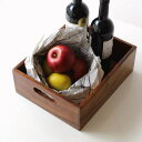 シーシャム整理ボックス | 小物入れ 整理ボックス 木製 シンプル 天然木 持ち手つき 小物収納 引き出し 収納ボックス