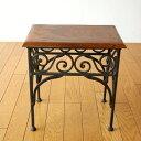 アイアンとシーシャムのネストテーブル S | 天然木製ウッドサイドテーブルコーヒーテーブルカフェテーブルおしゃれデザインナイトテーブルベッドサイドテーブルソファーサイドテーブル