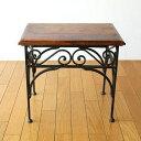 アイアンとシーシャムのネストテーブル M | ウッド天然木製サイドテーブルコーヒーテーブルカフェテーブルおしゃれデザインナイトテーブルベッドサイドテーブルソファーサイドテーブル