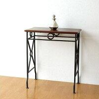ネストテーブル サイドテーブル アイアン 木製 シーシャムウッド 天然木 無垢 おしゃれ モダン シンプル アジアン ナチュラル アンティーク ネストテーブル コンソールM