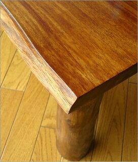 チーク原木テーブルアジアン家具チーク無垢材送料無料木製センターテーブルフロアーテーブル