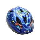 【P最大13倍(4/24 0時まで・エントリ含)】ROOKIE(ルーキー)カラー:OCEAN BLUE子供用ヘルメットABUS(アブス)