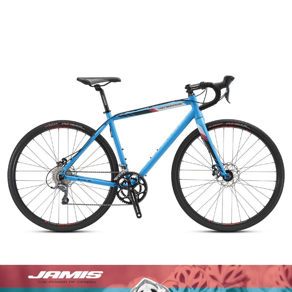 2017モデルJAMIS(ジェイミス)RENEGADE EXILE CLARIS(レネゲードエグザイル)シクロクロスバイク【送料プランC】 【完全組立】  【身長に合わせて組立/段ボール処理の心配なく、すぐに乗れる自転車をご自宅にお届け。】
