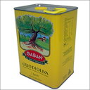 イタリア産オリーブオイルGABANピュアオリーブオイル3L缶×4缶〔業務用〕【送料無料】【smtb-T】