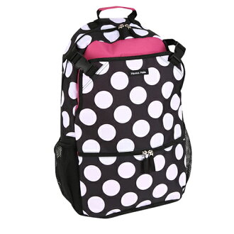 Hanna Hula (Hannah Fra) backpack | Black dot fs3gm
