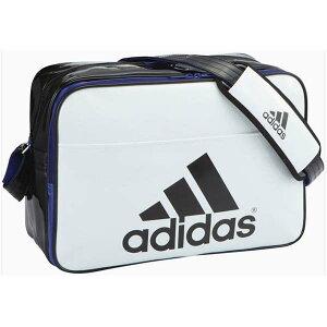 アディダス(adidas)エナメルショルダーバッグL(Z7679)S92807白/黒