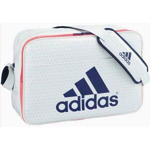 アディダス(adidas)エナメルショルダーバッグL(Z7679)S92808白ドット