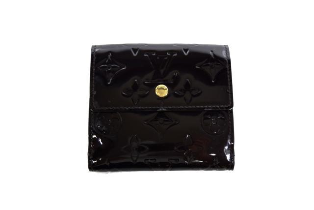【中古】LOUIS VUITTON ルイヴィトン 2つ折り財布 Wホック財布  M93523