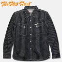 THE FLAT HEAD(フラットヘッド)ウォバッシュウエスタンシャツ【F-DS101】