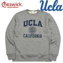 東洋エンタープライズCHESWICK(チェスウィック)UCLA SETIN SWEAT SHIRT