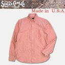 ショッピングタープ 東洋エンタープライズSugarCane(シュガーケン)Made in U.S.A. BDシャツ【SC25910】レッド