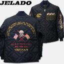 """JELADO(ジェラード)キルティングジャケット (刺繍)JELADO""""COMBAT TOGS"""" 60's STYLE【CT13401B】"""